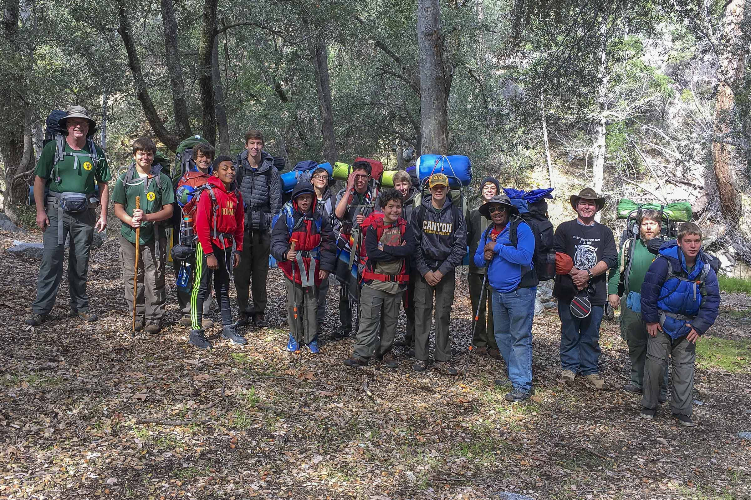 2016 West Fork Campground Hike